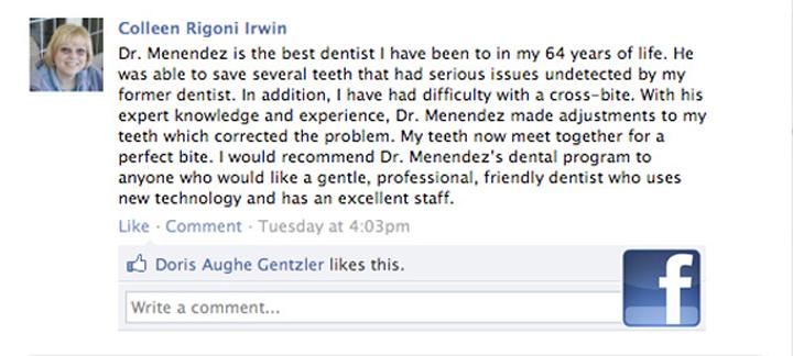 Colleen-FB-testimonial